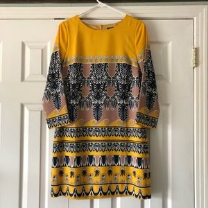 J. Crew Factory Print Sheath Dress